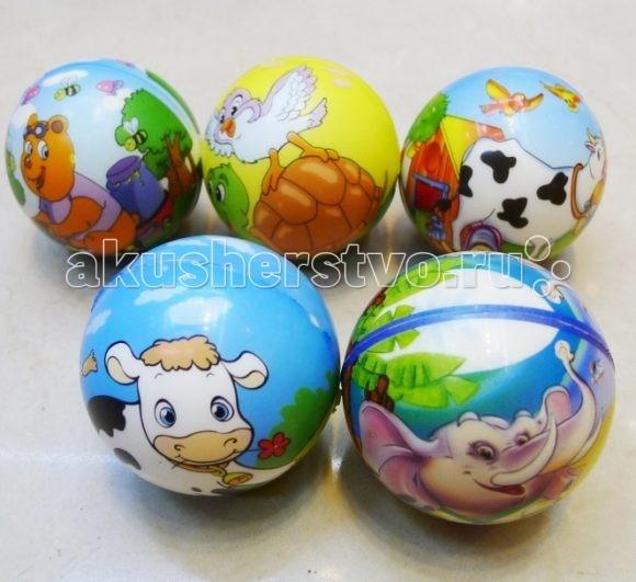 Shantou Gepai Мячик мягкий ЗверятаМячик мягкий ЗверятаShantou Gepai Мячик мягкий Зверята - простой спортивный снаряд для развития моторики у ребенка.  Цвета в ассортименте<br>