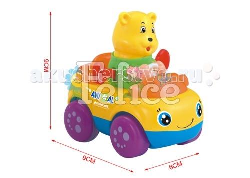 Развивающая игрушка Felice Веселый зоопарк набор из 8 каталок