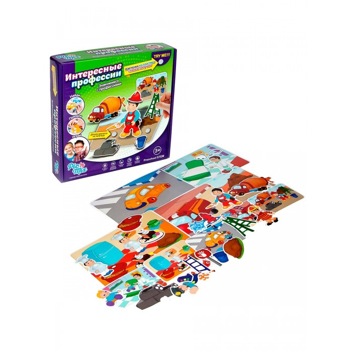 Развивающая игрушка Pic`n Mix Пазл-липучка Профессии
