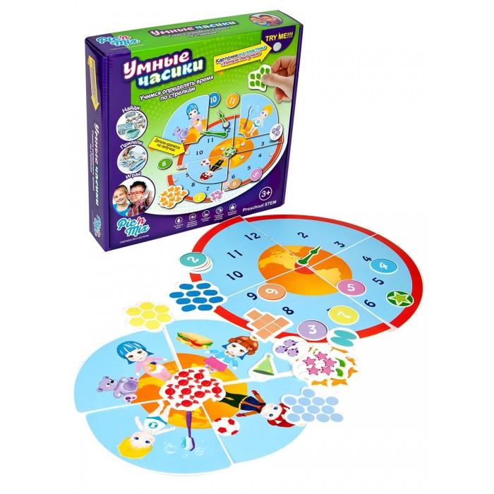 Развивающая игрушка Pic`n Mix Пазл-липучка Часы