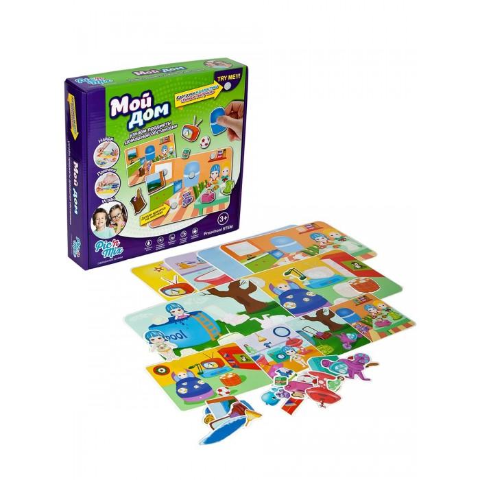 Развивающая игрушка Pic`n Mix Пазл-липучка Дом