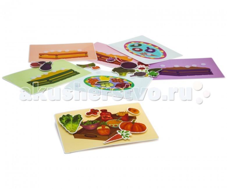 Развивающая игрушка Pic`n Mix Пазл-липучка Овощи