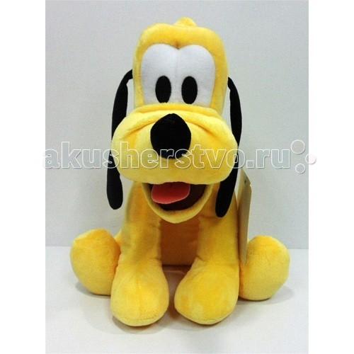 Мягкая игрушка Disney Плуто 43 смПлуто 43 смИгрушка изготовлена из текстильных материалов, набивка – чистый, гипоаллергенный синтепон.   Уход: стирка ручная или в стиральных машинах любого типа с мало пенообразующим порошком при температуре не выше 30С.<br>