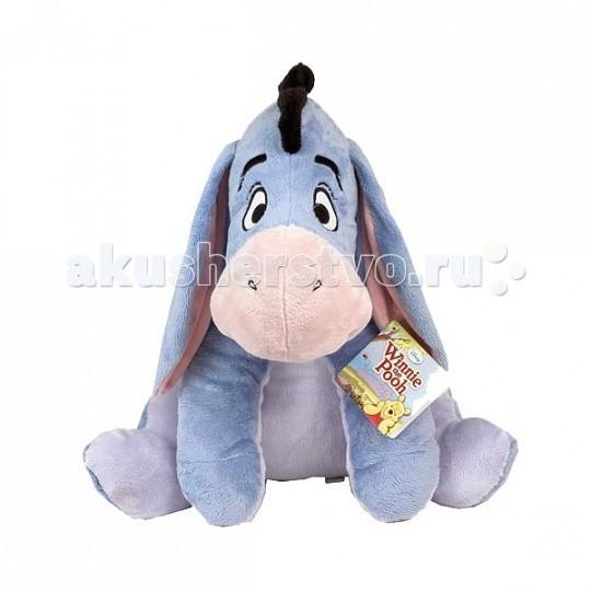 Мягкая игрушка Disney Ушастик 61 смУшастик 61 смУшастик – всеми любимый очаровательный ослик, который все время грустит. Он грустит без повода, просто Ушастик – пессимист, но, невзирая на это, он очень надежный и верный друг, который всегда придет на помощь.   Игрушка изготовлена из текстильных материалов, набивка – чистый, гипоаллергенный синтепон, пластмассовые гранулы.   Уход: стирка ручная или в стиральных машинах любого типа с мало пенообразующим порошком при температуре не выше 30С.<br>