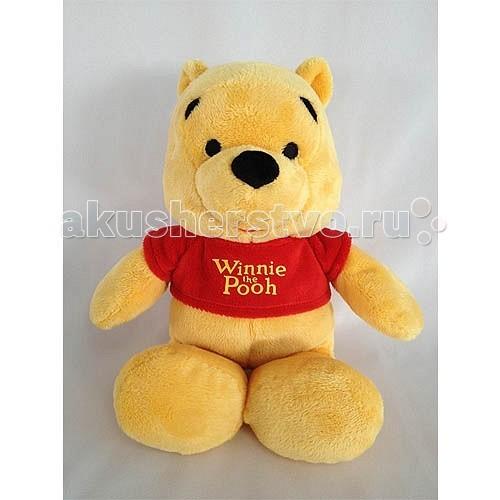 Мягкая игрушка Disney Винни 25 смВинни 25 смТрогательный медвежонок Винни воплощает идеи верной дружбы, простых радостей детства и жажду приключений. Ваш малыш уже давно мечтает о таком плюшевом друге!   Винни изготовлен из ярких, приятных на ощупь тканей.  Очень важным аспектом является то что, у игрушки отсутствуют пластиковые элементы: нос выполнен из мягкой ткани, а глазки вышиты – такую игрушку малыш может взять с собой кровать, вам не стоит опасаться, что прижав ее во сне, он может пораниться.   Игрушка изготовлена из текстильных материалов, набивка – чистый, гипоаллергенный синтепон.   Уход: стирка ручная или в стиральных машинах любого типа с мало пенообразующим порошком при температуре не выше 30С.<br>