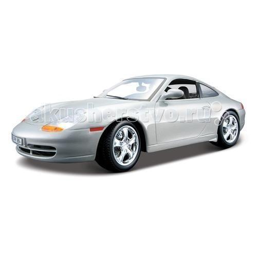 Bburago 1:18 Автомобиль Gold Porsche 911 Carrera (1997)
