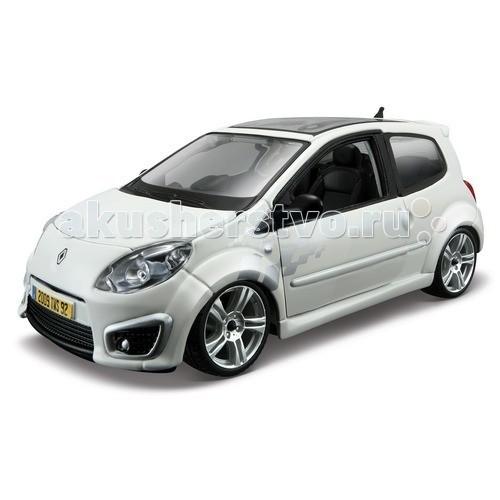 Bburago 1:24 масштабный автомобиль Star - Renault Twingo RS1:24 масштабный автомобиль Star - Renault Twingo RSBburago 1:24 масштабный автомобиль Star - Renault Twingo RS - не оставит равнодушным ни одного коллекционера машинок.   Модель выполнена с высокой детализацией, с открывающимися дверями, капотом и крутящимися колесами, в точности повторяющей внешний облик реального автомобиля.   Масштабная модель изготовлена из металла и окрашена настоящей автомобильной краской, по цвету соответствующей тону марки реального автомобиля.  Рекомендуется для детей от 3-х лет.<br>