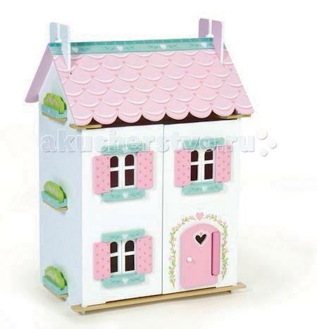 LeToyVan Кукольный домик Нежные сердечки с мебелью