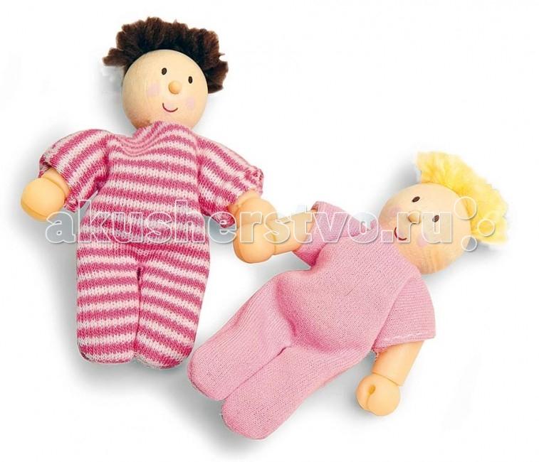 LeToyVan Кукла ПупсКукла ПупсLeToyVan Кукла Пупс.  Маленькая куколка - пупс. Кукла сделана из дерева и ткани и находится в индивидуальной подарочной коробочке-кроватке с прозрачной верхней крышкой. В коробочке лежит матрасик для куклы.  Кукла Пупс сделана из дерева и ткани размер куклы - 8 см коробочка раскладушка с прозрачной крышкой и матрасиком внутри подарочная упаковка 2 дизайна: с темными и светлыми волосами.<br>