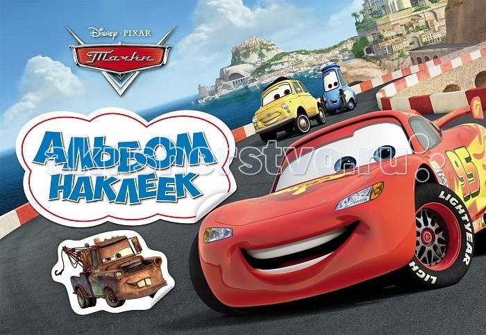 Disney Альбом наклеек Тачки
