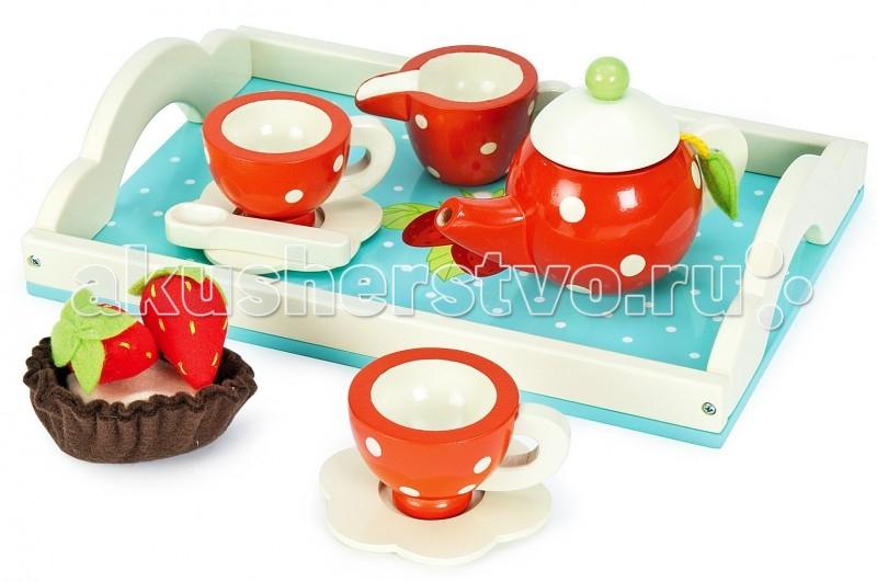 Деревянная игрушка LeToyVan Набор Чайный