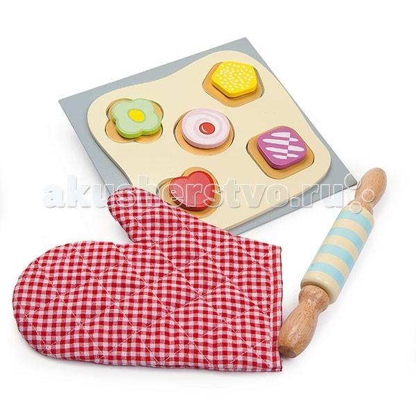 Деревянная игрушка LeToyVan Еда Испеки печенье сам c прихваткой