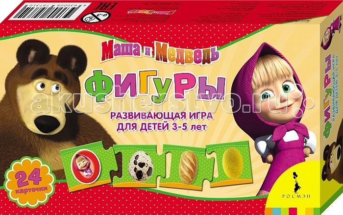 Маша и Медведь Развивающая игра Фигуры
