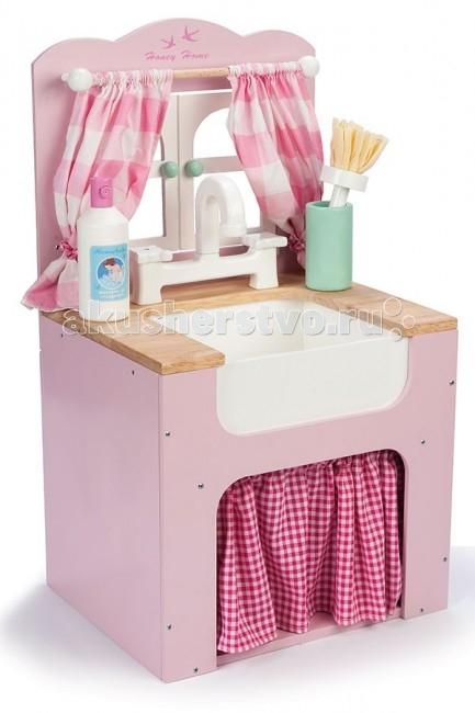 Деревянная игрушка LeToyVan Игровой набор Кухонная мойка
