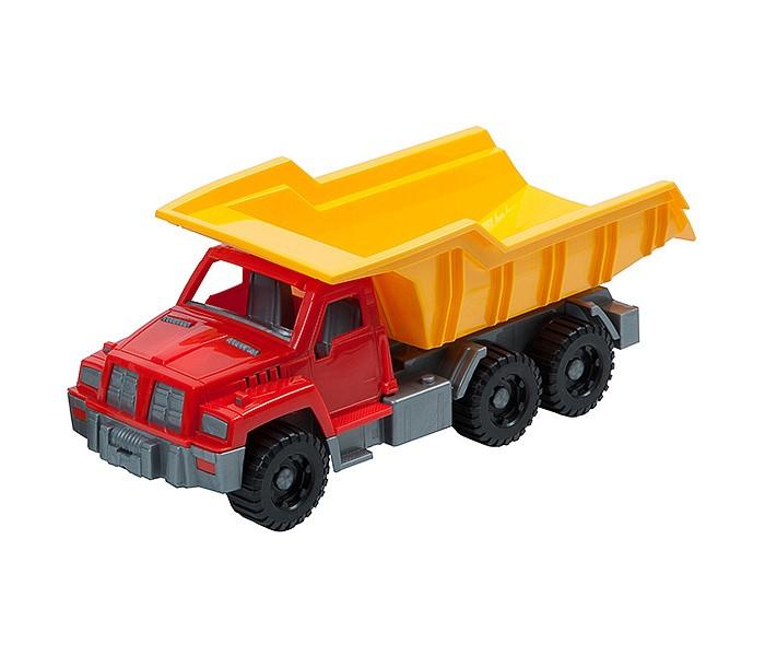 Нордпласт Грузовик большойГрузовик большойИгрушка, выполненная в ярких цветах, обладает особой прочностью.  У грузовика удобная кабина, вместительный кузов, крепкие колеса, малышу будет удобно его катать.  Изготовлено из высококачественной пластмассы.  Размеры 36 X 15 X 15 см<br>