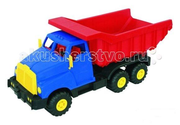 Нордпласт Грузовик ВитязьГрузовик ВитязьИгрушка, выполненная в ярких цветах, обладает особой прочностью.  У грузовика удобная кабина, вместительный кузов, крепкие колеса, малышу будет удобно его катать.  Изготовлено из высококачественной пластмассы.  Размеры 55 X 21 X 23 см<br>