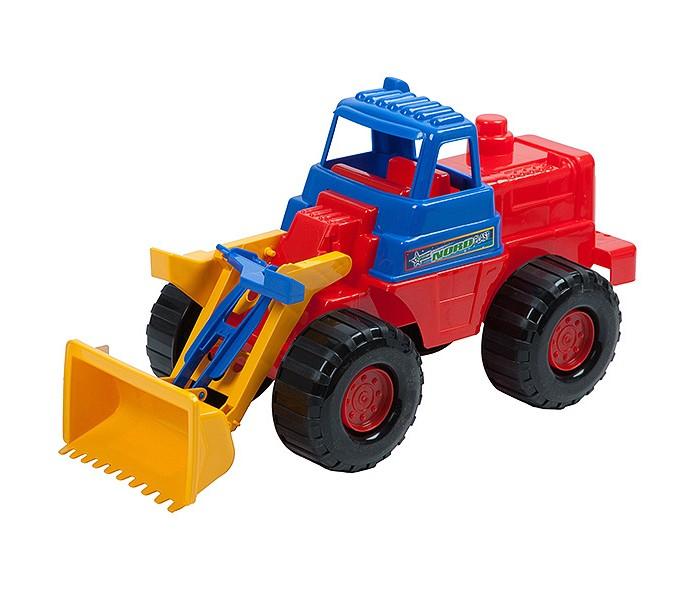 Нордпласт Трактор НосорогТрактор НосорогИгрушка, выполненная в ярких цветах, обладает особой прочностью. У машины крутятся колеса, имеются подвижные элементы.  Машинку удобно катать. Играя с машинкой, малыш развивает координацию движений и моторику рук.  Малышу будет доволен новой прочной машиной, которая прослужит очень долго.  Изготовлено из высококачественной пластмассы.  Размеры 45 X 21 X 24 см<br>