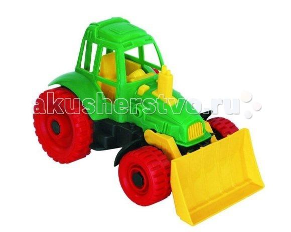 Нордпласт Трактор с грейдером