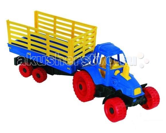 Нордпласт Трактор с прицепом
