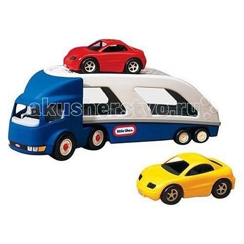 Little Tikes Игрушка Автовоз 170430Игрушка Автовоз 170430Игрушка Автовоз 170430. В комплект к автовозу входят две машинки, шасси можно отцепить от кузова.<br>
