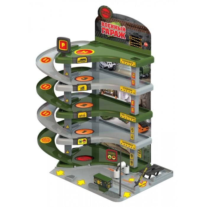 Нордпласт Гараж военныйГараж военныйВоенный гараж  - это игровой набор который станет отличным подарком для мальчика возрастом от 3 лет.  Малыш сможет спускать машинки с верхнего этажа на нижний, а также придумать множество сюжетов для своих игр.  Набор развивает фантазию и мелкую моторику рук ребенка.  Комплектность: Детали для сборки гаража. Наклейки. Инструкция – 1 шт.<br>