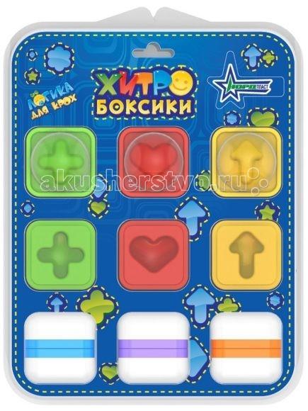 Нордпласт Логическая игра ХитробоксикиЛогическая игра ХитробоксикиДля развития мелкой моторики и логики у детей, а также для изучения различных форм и цветов.  Изготовлено из высококачественной пластмассы.  Хитробоксики представляют собой кубики для развития мелкой моторики и логики у детей, а также для изучения различных форм и цветов.   Эта увлекательная игра станет отличным подарком вашему ребенку.<br>
