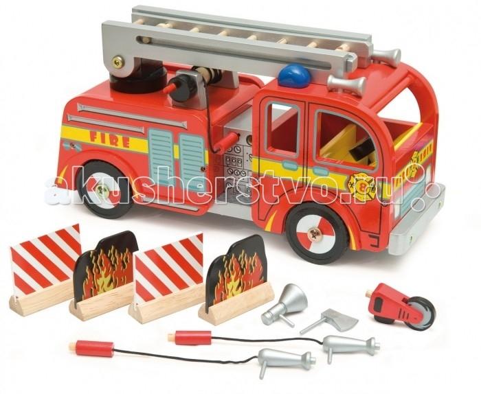 LeToyVan Игровой набор Пожарная машина