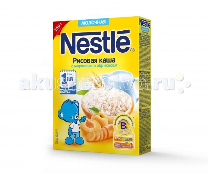 Nestle Молочная Рисовая каша с морковью и абрикосом с 5 мес. 250 г