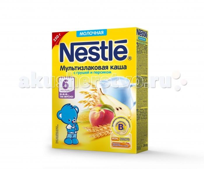 Nestle Молочная Гречневая каша с яблоком с 5 мес. 250 г