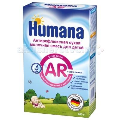 Humana Заменитель Антирефлюкс с 0 мес. 400 г