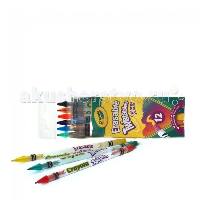 Crayola выкручивающиеся 12 шт.