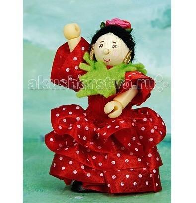 LeToyVan Кукла Испанская танцовщица Розита фламенкоКукла Испанская танцовщица Розита фламенкоLeToyVan Испанская танцовщица Розита фламенко.  Миниатюрные дизайнерские куколки, более 80 самых разных человечков с индивидуальным характером исполнения.  Королевская семья, волшебники и феи; отважные рыцари и морские пираты, фигурки-профессии футболисты, повар, уборщица, официантка, британский гвардеец и другие; персонажи из истории, фантазийные герои и герои сказок; ангелы, танцовщицы и много других. Смотреть всех героев Budkins.  В куклы можно играть сочетая с игровыми наборами Le Toy Van; размер кукол, форма и дизайн специально разработаны, например: набор кукол Пожарные + Пожарная машина и игровой набор Пожарная станция набор кукол Строители + игровой набор Дорожная техника куклы сказочных героев + кукольный замок куклы-пираты + пиратский корабль куклы-рыцари + замок для мальчика с аксессуарами. Для взрослого человека сувенирная куколка может стать подарком к празднику или встрече. приятный и радостный подарок на 8 Марта или 23 февраля нетрадиционный подарок на день рождение как знак внимания подарок на Новый год волшебных героев из сказок тематический сувенир для профессиональной деятельности пожарные, строители, врачи, учителя, футболисты, охранники Куклу Budkins приятно получить в подарок на любой праздник. Оригинально, очень красиво, вызывает только приятные эмоции и радостное<br>