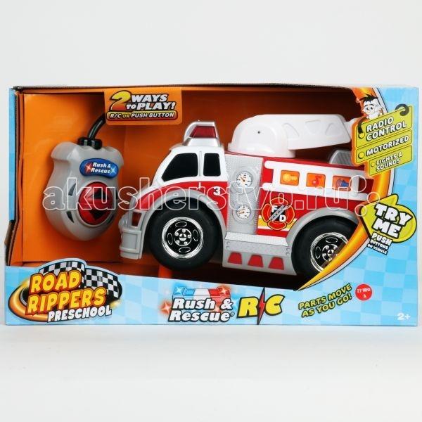 Toystate Пожарная машинаПожарная машинаToystate Пожарная машина  Особенности: Чудесная игрушка оснащена пультом управления, что позволяет модели двигаться вперед и назад.  Выдвижная лестница, светящиеся фары и звуковые эффекты перенесут ребенка в увлекательный мир игр.  Игрушка обязательно понравится вашему ребенку!<br>