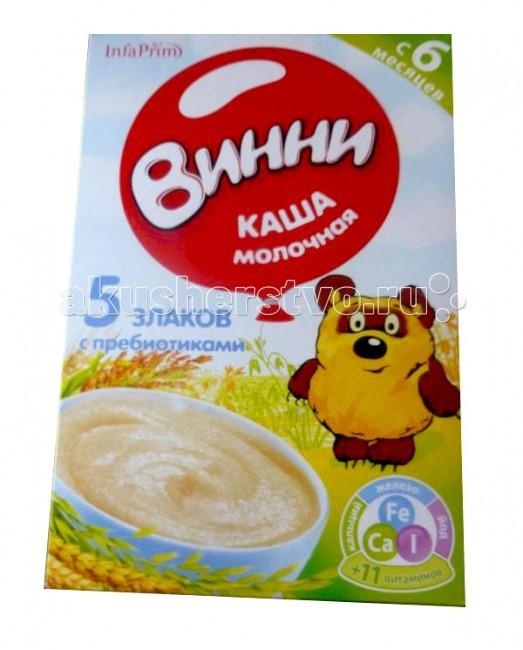 Винни Молочная каша с пребиотиками 5 злаков
