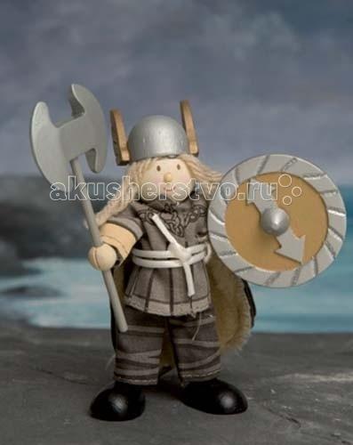 LeToyVan Кукла Викинг МагнусКукла Викинг МагнусLeToyVan Викинг Магнус.  Миниатюрные дизайнерские куколки, более 80 самых разных человечков с индивидуальным характером исполнения.  Королевская семья, волшебники и феи; отважные рыцари и морские пираты, фигурки-профессии футболисты, повар, уборщица, официантка, британский гвардеец и другие; персонажи из истории, фантазийные герои и герои сказок; ангелы, танцовщицы и много других. Смотреть всех героев Budkins.  В куклы можно играть сочетая с игровыми наборами Le Toy Van; размер кукол, форма и дизайн специально разработаны, например: набор кукол Пожарные + Пожарная машина и игровой набор Пожарная станция набор кукол Строители + игровой набор Дорожная техника куклы сказочных героев + кукольный замок куклы-пираты + пиратский корабль куклы-рыцари + замок для мальчика с аксессуарами. Для взрослого человека сувенирная куколка может стать подарком к празднику или встрече. приятный и радостный подарок на 8 Марта или 23 февраля нетрадиционный подарок на день рождение как знак внимания подарок на Новый год волшебных героев из сказок тематический сувенир для профессиональной деятельности пожарные, строители, врачи, учителя, футболисты, охранники Куклу Budkins приятно получить в подарок на любой праздник. Оригинально, очень красиво, вызывает только приятные эмоции и радостное настроение.<br>