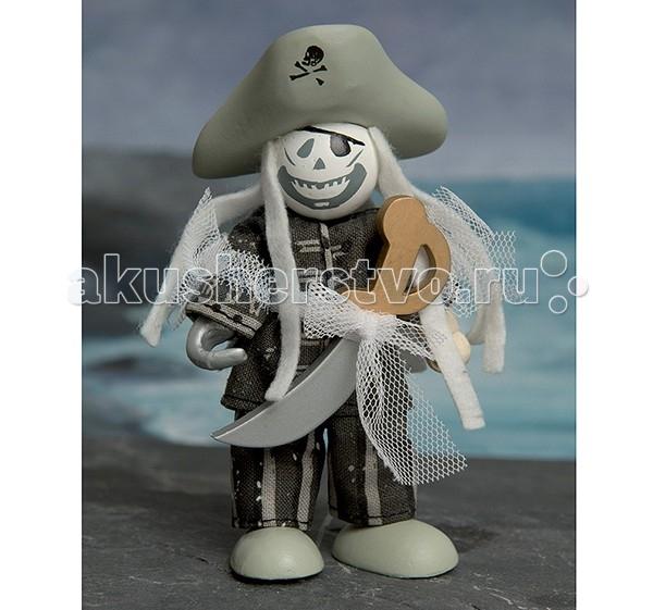 LeToyVan Кукла Пират-призракКукла Пират-призракLeToyVan Пират-призрак  Миниатюрные дизайнерские куколки, более 80 самых разных человечков с индивидуальным характером исполнения.  Королевская семья, волшебники и феи; отважные рыцари и морские пираты, фигурки-профессии футболисты, повар, уборщица, официантка, британский гвардеец и другие; персонажи из истории, фантазийные герои и герои сказок; ангелы, танцовщицы и много других. Смотреть всех героев Budkins.  В куклы можно играть сочетая с игровыми наборами Le Toy Van; размер кукол, форма и дизайн специально разработаны, например: набор кукол Пожарные + Пожарная машина и игровой набор Пожарная станция набор кукол Строители + игровой набор Дорожная техника куклы сказочных героев + кукольный замок куклы-пираты + пиратский корабль куклы-рыцари + замок для мальчика с аксессуарами. Для взрослого человека сувенирная куколка может стать подарком к празднику или встрече. приятный и радостный подарок на 8 Марта или 23 февраля нетрадиционный подарок на день рождение как знак внимания подарок на Новый год волшебных героев из сказок тематический сувенир для профессиональной деятельности пожарные, строители, врачи, учителя, футболисты, охранники Куклу Budkins приятно получить в подарок на любой праздник. Оригинально, очень красиво, вызывает только приятные эмоции и радостное настроение.<br>