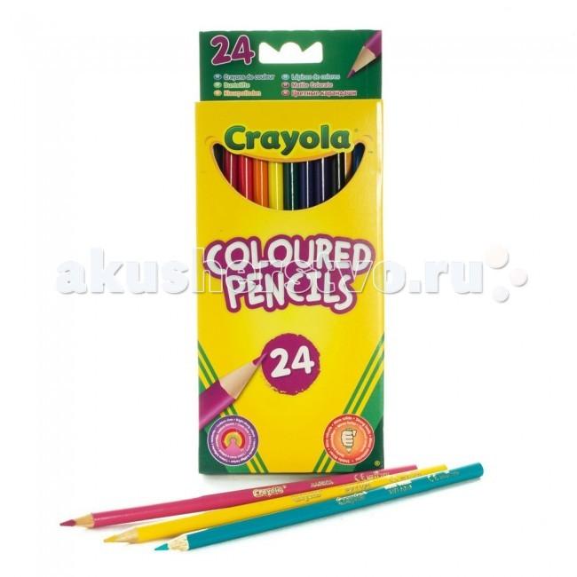 Crayola Карандаши 24 цвета