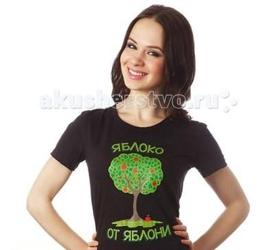 Mum's Era Футболка женская Яблоко от яблони(M 46-48)