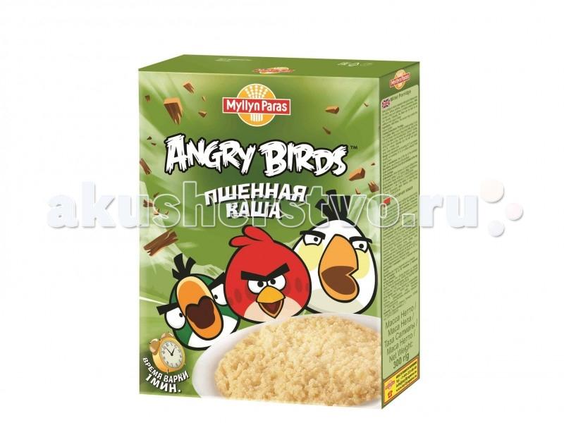 Myllyn Paras Безмолочная Angry Birds Каша пшенная 300 г