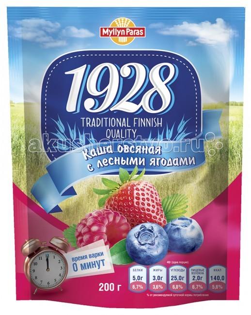 Myllyn Paras Безмолочная Каша овсяная с лесными ягодами 200 г