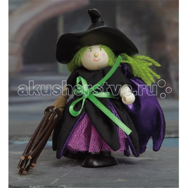 LeToyVan Кукла ВедьмаКукла ВедьмаLeToyVan Ведьма.  Миниатюрные дизайнерские куколки, более 80 самых разных человечков с индивидуальным характером исполнения.  Королевская семья, волшебники и феи; отважные рыцари и морские пираты, фигурки-профессии футболисты, повар, уборщица, официантка, британский гвардеец и другие; персонажи из истории, фантазийные герои и герои сказок; ангелы, танцовщицы и много других. Смотреть всех героев Budkins.  В куклы можно играть сочетая с игровыми наборами Le Toy Van; размер кукол, форма и дизайн специально разработаны, например: набор кукол Пожарные + Пожарная машина и игровой набор Пожарная станция набор кукол Строители + игровой набор Дорожная техника куклы сказочных героев + кукольный замок куклы-пираты + пиратский корабль куклы-рыцари + замок для мальчика с аксессуарами. Для взрослого человека сувенирная куколка может стать подарком к празднику или встрече. приятный и радостный подарок на 8 Марта или 23 февраля нетрадиционный подарок на день рождение как знак внимания подарок на Новый год волшебных героев из сказок тематический сувенир для профессиональной деятельности пожарные, строители, врачи, учителя, футболисты, охранники Куклу Budkins приятно получить в подарок на любой праздник.Оригинально, очень красиво, вызывает только приятные эмоции и радостное настроение, индивидуально, неизбито, а самое главное незабываемо.<br>