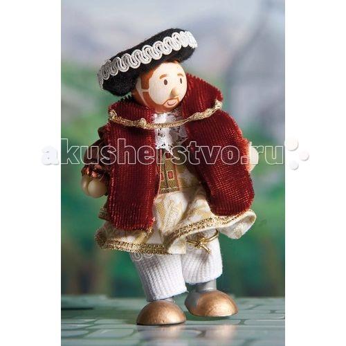 LeToyVan Кукла Король Генри VIIIКукла Король Генри VIIILeToyVan Король Генри VIII.  Миниатюрные дизайнерские куколки, более 80 самых разных человечков с индивидуальным характером исполнения.  Королевская семья, волшебники и феи; отважные рыцари и морские пираты, фигурки-профессии футболисты, повар, уборщица, официантка, британский гвардеец и другие; персонажи из истории, фантазийные герои и герои сказок; ангелы, танцовщицы и много других. Смотреть всех героев Budkins.  В куклы можно играть сочетая с игровыми наборами Le Toy Van; размер кукол, форма и дизайн специально разработаны, например: набор кукол Пожарные + Пожарная машина и игровой набор Пожарная станция набор кукол Строители + игровой набор Дорожная техника куклы сказочных героев + кукольный замок куклы-пираты + пиратский корабль куклы-рыцари + замок для мальчика с аксессуарами. Для взрослого человека сувенирная куколка может стать подарком к празднику или встрече. приятный и радостный подарок на 8 Марта или 23 февраля нетрадиционный подарок на день рождение как знак внимания подарок на Новый год волшебных героев из сказок тематический сувенир для профессиональной деятельности пожарные, строители, врачи, учителя, футболисты, охранники Куклу Budkins приятно получить в подарок на любой праздник.Оригинально, очень красиво, вызывает только приятные эмоции и радостное настроение, индивидуально, неизбито, а самое главное незабываемо.<br>