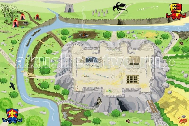 Игровой коврик LeToyVan Замок 150x100 см