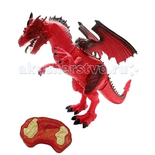 Интерактивная игрушка Dragon Дракон на инфракрасном управленииДракон на инфракрасном управленииИнтерактивная игрушка Dragon Дракон на инфракрасном управлении - серия Мегазавры, фигурки динозавров и дракона от компании Dragon-i Toys. При помощи ИК управления фигурки приводятся в движение, у них загораются глаза, а кроме этого, они начинают издавать величественный рев.  Соберите всю коллекцию и отправьтесь в увлекательное путешествие во временя Юрского периода.  Высота фигурки: 20 см.<br>