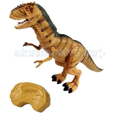 Интерактивная игрушка Dragon Динозавр на инфракрасном управлении Тирранозавр