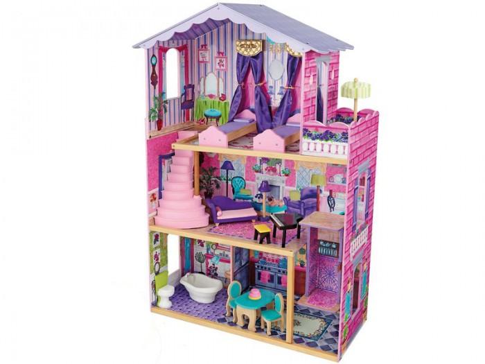 KidKraft Кукольный домик Особняк мечты с мебелью 13 элементов