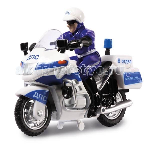 Технопарк Мотоцикл ДПС с фигуркой