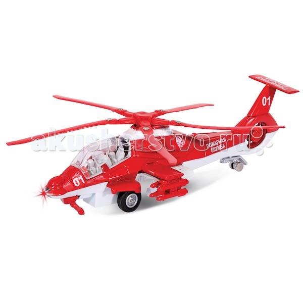 Технопарк Вертолет Пожарная службаВертолет Пожарная службаТехнопарк Вертолет Пожарная служба обладает высокой реалистичностью за счет детальной проработки.   Модель сделана реалистично, есть звуковые и световые эффекты, инерционный механизм.  Размеры: 29х15х10 см<br>