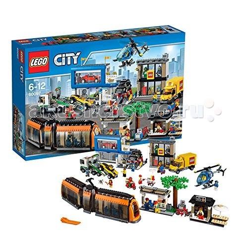 Конструктор Lego City 60097 Лего Город Городская площадь