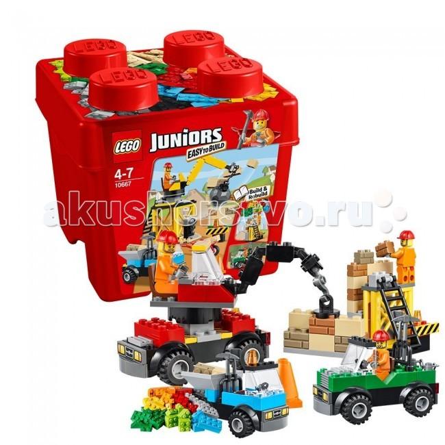 Конструктор Lego Juniors 10667 Лего Джуниорс Строительство